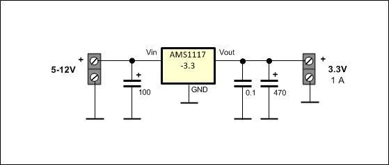 AMS1117 Circuit