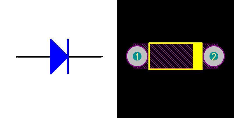 شماتیک، فوت پرینت و نمای 3D