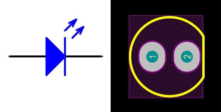 LED Blue 5mm