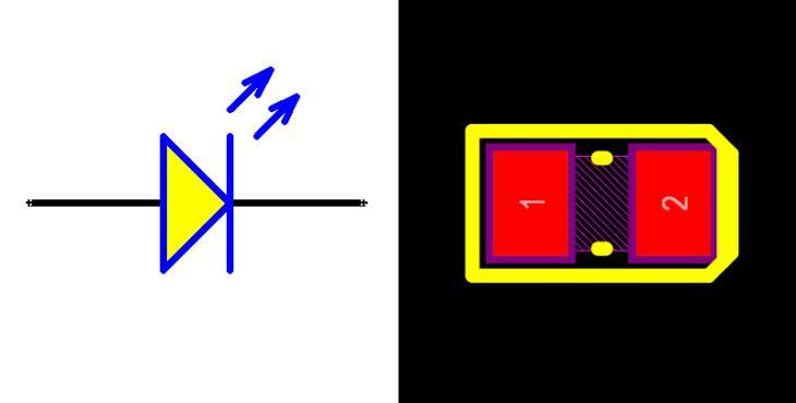 LED Yellow 0805
