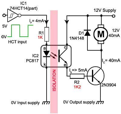 PC817 Circuit