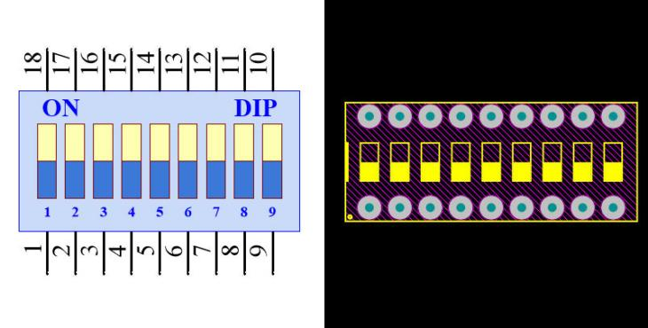 DIP Switch 9N