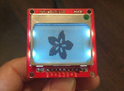Nokia5110 LCD HXE