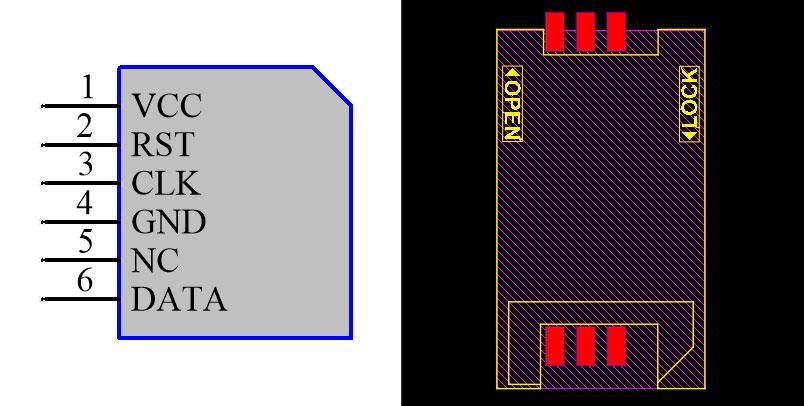 SimCard Connector C713