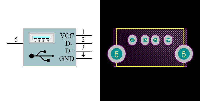 USB Type-A Female VM